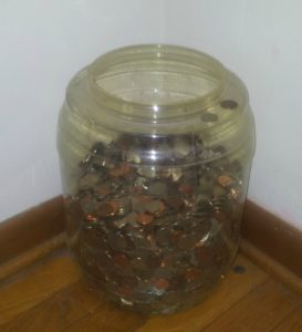 cash in your change