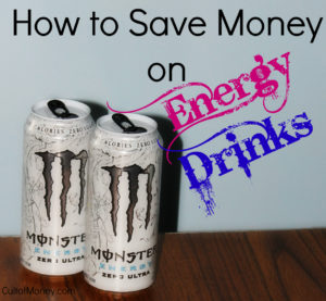 save money on energy drinks