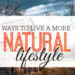Living a more natural lifestyle is not only good for you and the environment but it can save you a lot of money. Here are six things you can do to get started.