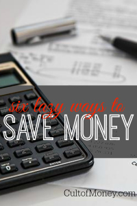 Are you lazy when it comes to money management? That doesn't always have to be a bad thing! Here are lazy ways you can save money too! (A lot of it!)