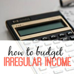 When you're self employed budgeting irregular income can seem scary. Here are two very easy ways to get started.