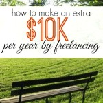 In desperate need of extra money? Here's your step by step plan on how to make an extra $10,000 per year freelancing.
