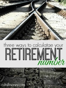 Looking to calculate your retirement number? Here are three easy ways that range from super simple to a bit complex.