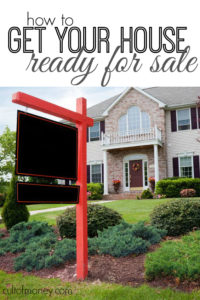 Selling a house can be such a stressful process! Here are the tips my realtor gave to me to get your house ready for sale.