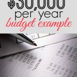 Can You Make it On a $30,000 Budget?