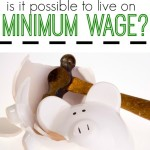 Wondering if it's possible to live on minimum wage? We do the calculations. I think you'll be shocked by the findings.