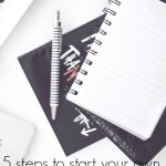 Starting a freelance business and getting freelance clients isn't as hard as you think. Here's the five step process that I use and that works wonderfully!