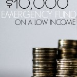 How I Saved a $10,000 Emergency Fund on a Low Income