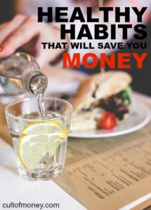 If you want to improve your health without breaking the bank try these six healthy habits that save money.