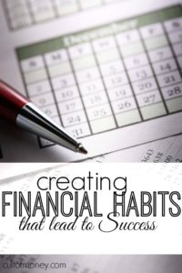When it comes to money creating habits that last is one of the absolute smartest things you can do. Here are my favorite financial habits + tips on getting started.