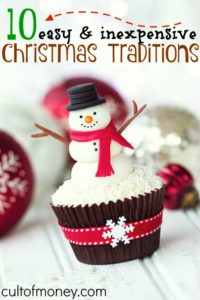 If you're kids are like mine they enjoy activities over gifts. Here are ten easy and inexpensive Christmas traditions your family is sure to enjoy!