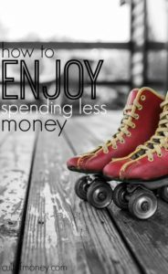 While it sounds counter intuitive is very possible to enjoy spending less money. Here's how to get started.