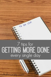 The good use of time is what can separate the successful from the unsuccessful. Use your time better with these tips for getting more done every day.
