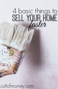 Selling a home is not easy, especially if you're in a tough market. Here are four basic things to sell your home faster that you need to do!