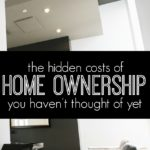 There are many benefits that come along with being homeowner. The problem is, there are also many costs that homeowners-to-be don't think of before buying. If you're getting ready to purchase a house or considering it in the near future don't forget these hidden costs of homeownership.