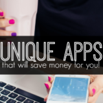 Do you have a hard time saving money? Why not let technology do the work for you? Here five unique apps that will save money for you.