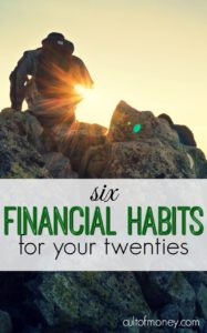 Since financial education isn't taught in schools many young adults start out on the wrong financial footing. Here are financial habits for your twenties you should know.