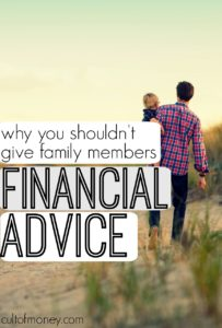 Giving family financial advice can majorly backfire. Here's what you should know and how to go about giving advice the right way.