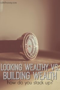 There's a big difference between looking wealthy vs. being wealthy. Wondering if you're on the right side of the equation? Find out if you are...