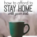 Dropping your kid off with at daycare can be rough for a mom. If you're looking for another way here's how to afford to stay home with your kids.