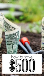 Ready to improve your finances? Start by increasing your savings! Here's how to save $500 even if you're living paycheck to paycheck.