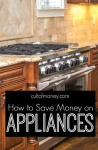 Appliances are necessary but expensive! If you're needing to make some replacements soon here's how to save money on appliances.