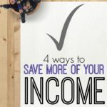Want to save more of your income this year? If so check out these four different methods plus two tips to ensure the greatest success.