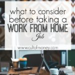 Want to Work From Home? What to Consider First