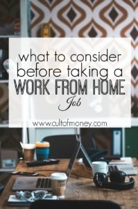 Want to work from home but not quite convinced it's for you? Read this set of pros and cons before accepting your first work from home gig.