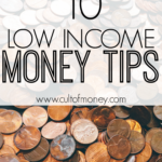 10 Low Income Money Tips